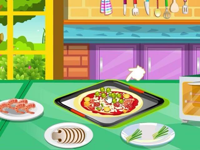 cooking fever pizza maker jeux de cuisine sur. Black Bedroom Furniture Sets. Home Design Ideas